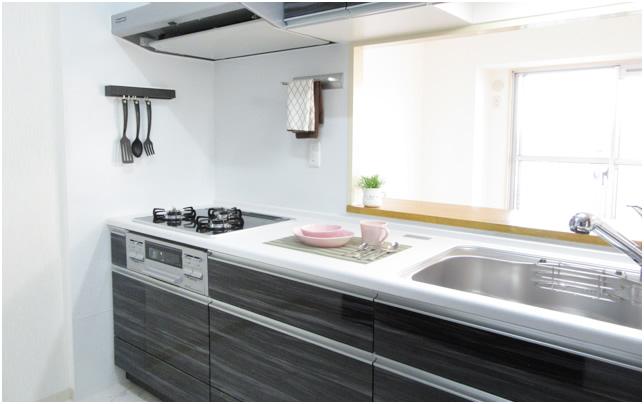 キッチン施工事例アフターイメージ