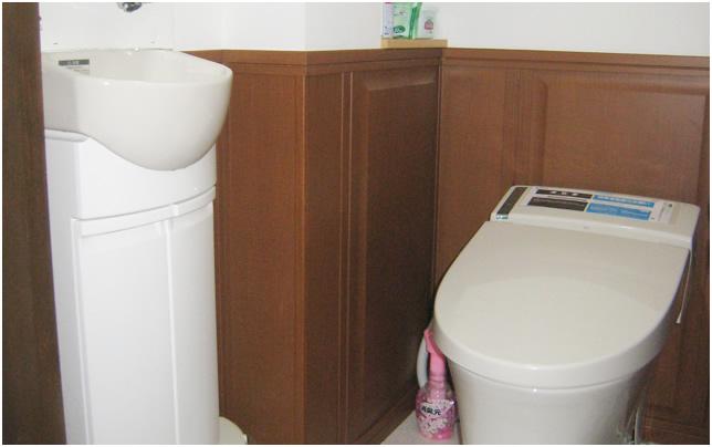 トイレ施工事例アフターイメージ