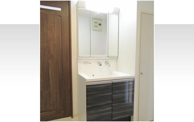 洗面所施工事例アフターイメージ